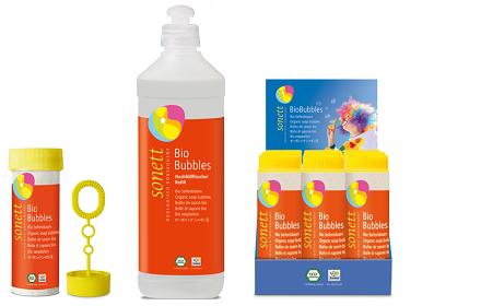 bio-bańki mydlane dla dzieci 45ml,0,5l, display