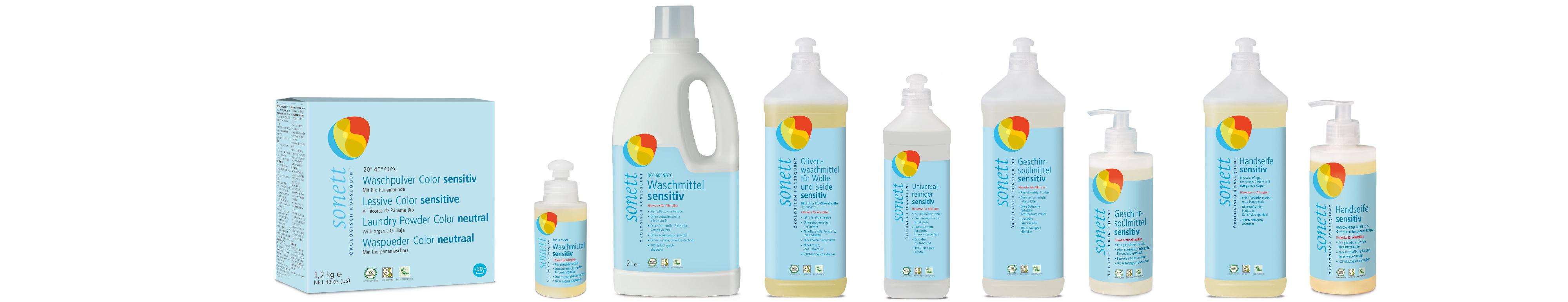 Sonett - seria NEUTRAL / SENSITIV bez żadnych dodatków zapachowych dla niemowląt, dzieci i alrgików